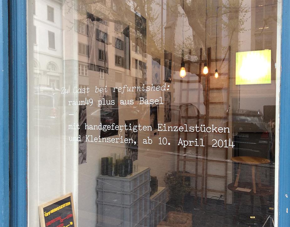 Zu Gast bei refurnished: raum49 plus aus Basel