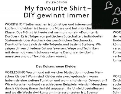 refurnished, My favourite Shirt – DIY gewinnt